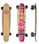 Gunslinger 41'' Bamboo Chicks Kicktail - Longboard
